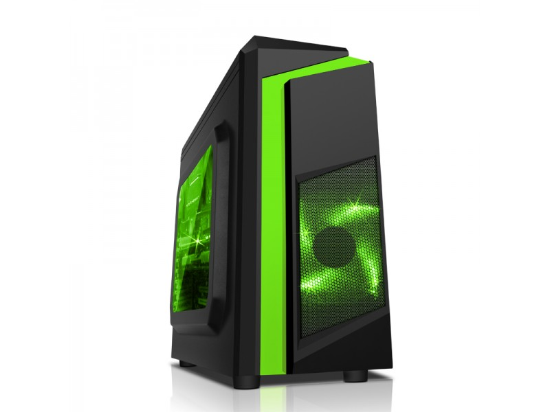 Vỏ Case SAMA E-Sport F2 Black - Green
