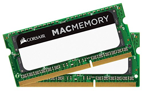 Ram laptop Corsair Mac Memory — 16GB (2 x 8GB) DDR3L bus 1866MHz C11 Memory Kit (CMSA16GX3M2C1866C
