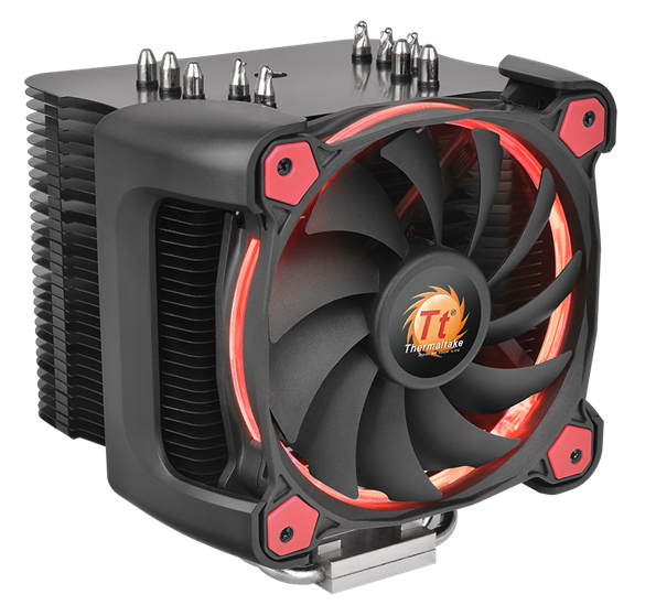 Tản nhiệt khí CPU Thermaltake Cooler Riing Silent Pro 12 RED CL-P021-CA12RE-A