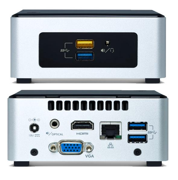 PC Intel NUC Kit NUC5CPYH cpu N3050 2.16Ghz