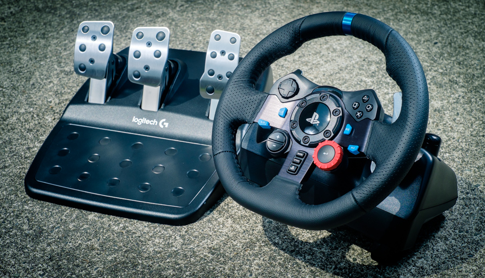 Vô lăng Game - Logitech G29 DRIVING FORCE