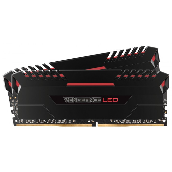 Ram Corsair (2 x 16GB) 32G bus 3200 C16 - Led Red