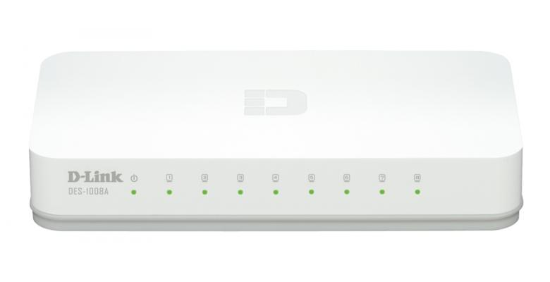 Switch 8P Dlink DES1008A