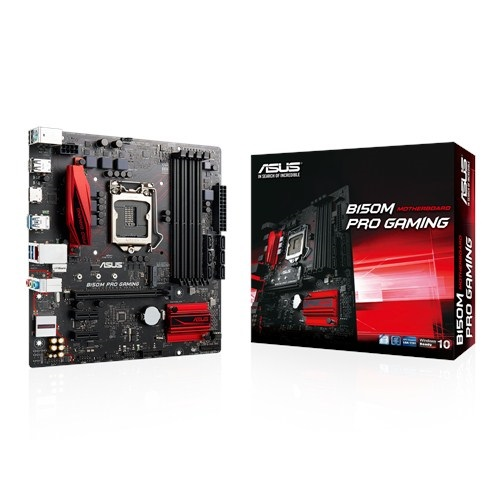 Asus B150M-Pro Gaming (Chipset Intel B150/ Socket LGA1151/ VGA onboard)