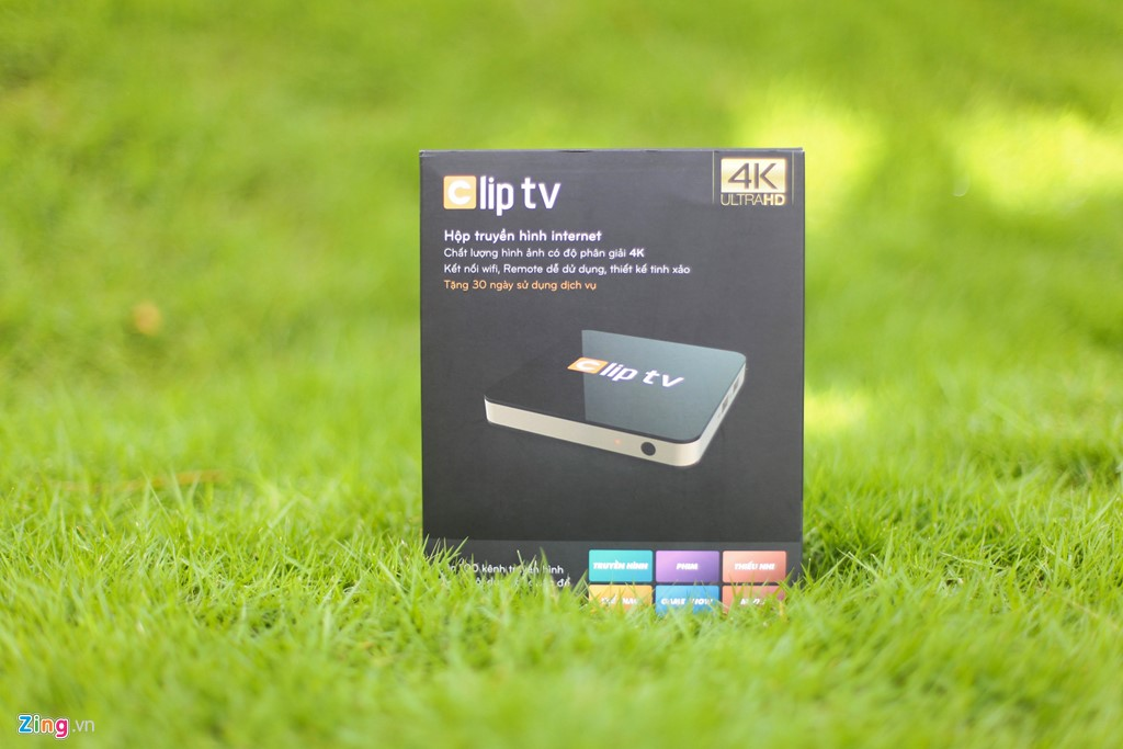 Android TV box : Clip TV Box  hỗ trợ 4K