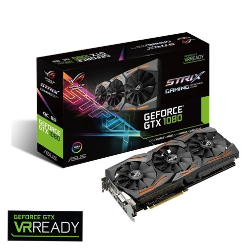 Asus GTX1080-8G (NVIDIA Geforce/ 8Gb/ DDR5X/ 256Bi