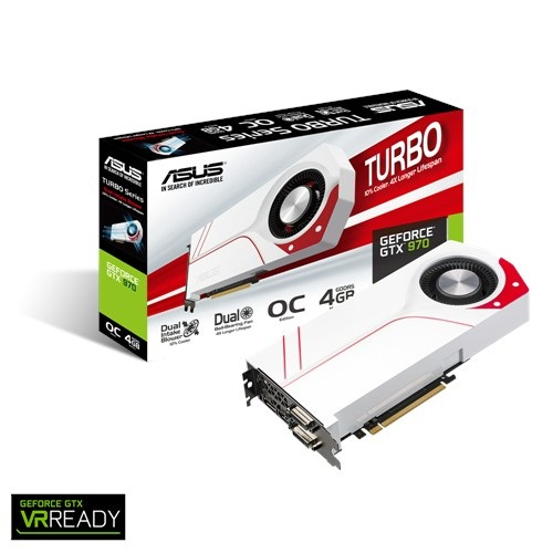Asus TURBO GTX970-OC-4GD5 (NVIDIA Geforce/ 4Gb/ DDR5/ 256 Bits)