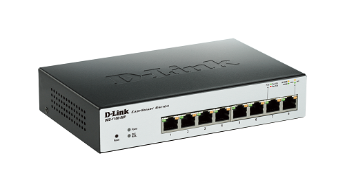 EasySmart 8-Port Gigabit PoE Switch DGS-1100-08P
