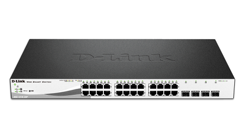 28 Port PoE Gigabit Web Smart Switch including 4 G