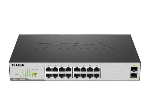 Switch D-Link Smart 18 Port - (DGS-1100-18)