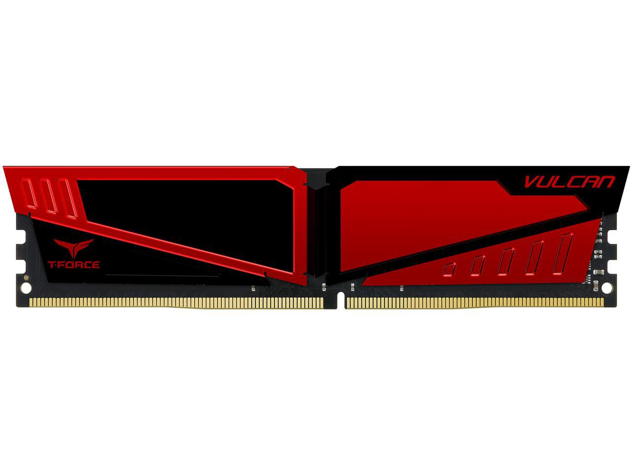 Ram TeamGroup Vulcan 4GB RED DDR4-2400MHz