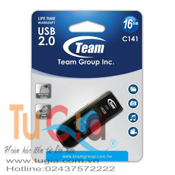 USB TEAMGROUP C141 DRIVE 16GB