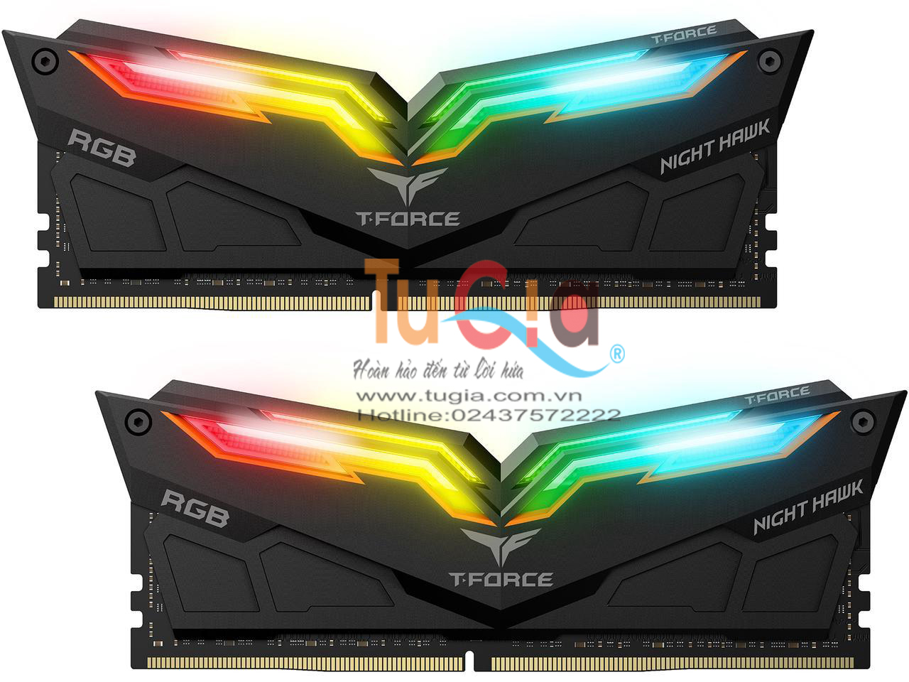 Team Night Hawk RGB 16GB (2x8GB) Bus 3000 - DDR4 -