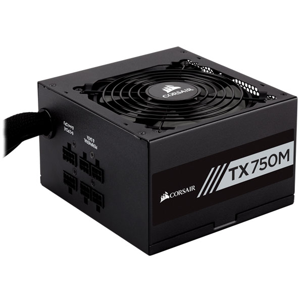 Nguồn Corsair TX750M - 80 Plus Gold - Semi Modul - New CP-9020131-NA