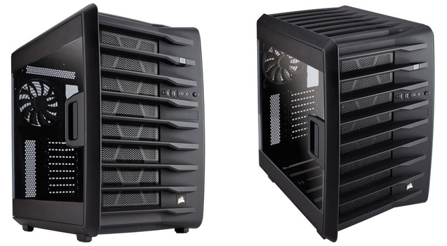 Vỏ Case CORSAIR Air 740 Black  CC-9011096-WW