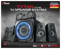 Loa Trust GXT 658 Tytan 5.1 surround Speaker System 21738