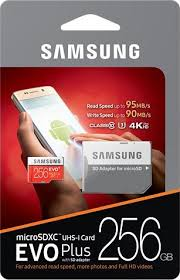 Thẻ nhớ Micro SD Samsung Evo plus - 256 GB MB-MC256DA/APC