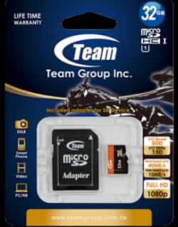 Thẻ Nhớ 32GB-HC (UHS-I) Micro SDHC Class 10 box + Adapter