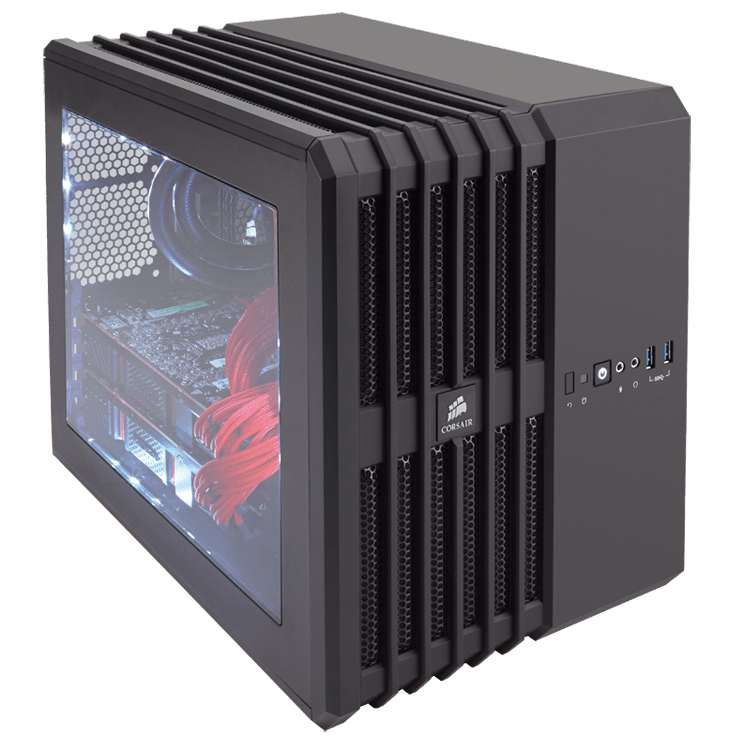 Vỏ Case CORSAIR  Air 240 Black  -  Case Mini - ITX   CC-9011030-WW