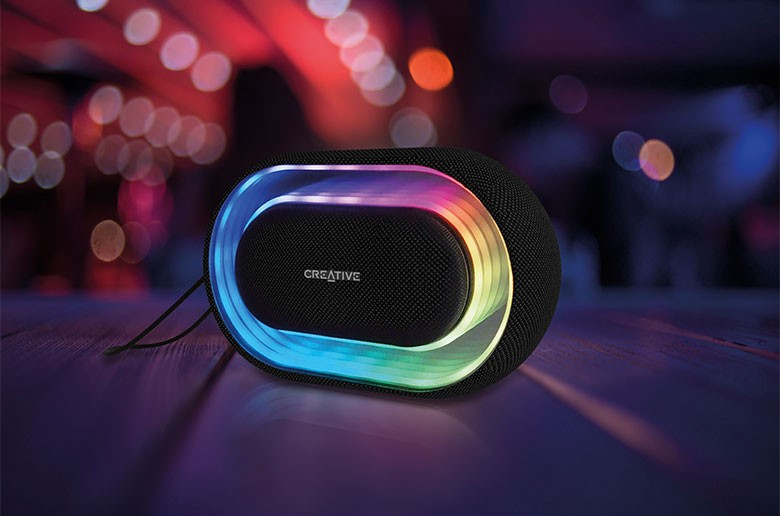 Creative HALO – Portable Bluetooth Speaker with Lightshow