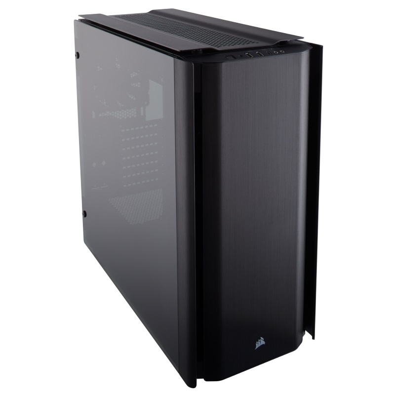 Case 500D - Tempered Glass - Aluminum