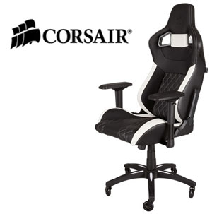 Gaming Chair T1 Race Black/White