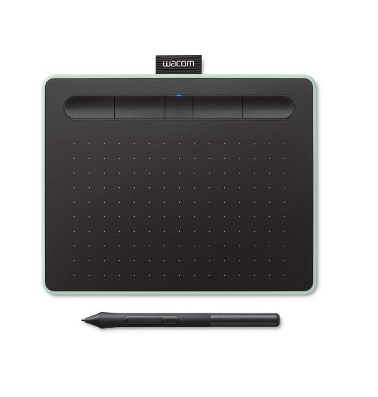 Bảng vẽ cảm ứng Wacom Intuos S with Bluetooth CTL-4100WL Pistachio (Xanh)