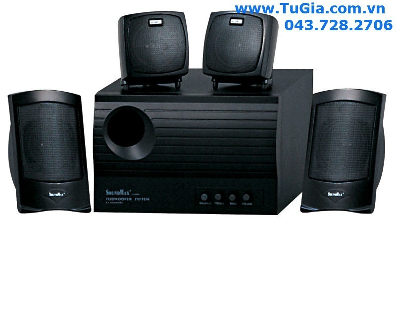 Loa vi tính SOUNDMAX A4000 (4.1) 60W (model A-4000)