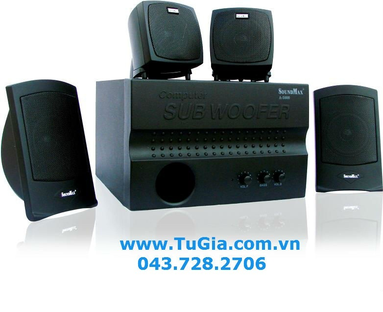 Loa vi tính SOUNDMAX A5000 (4.1) 60W (model A-500
