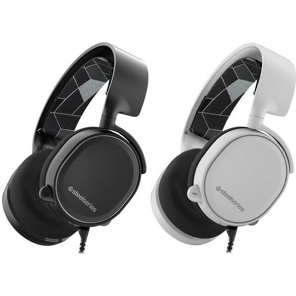 Tai nghe Steelseries - Arctis 3 Black 7.1 DTS Head