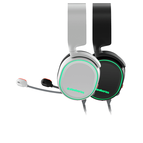 Tai nghe Steelseries - Arctis 5 White 7.1 DTS Headphone:X (RGB)